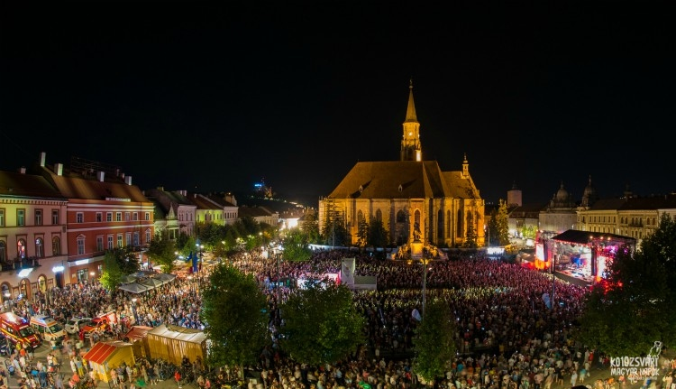 Tíz év után is képes volt rekordokat dönteni a Kolozsvári Magyar Napok