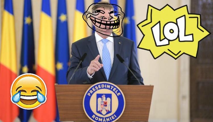 BRÉKING: Iohannis mondott egy poént! Dobáljon el mindent, Iohannis mondott egy poént!!!