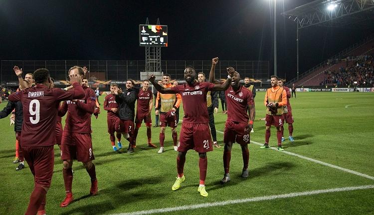 Lazio-veréssel mutatkozott be a CFR az Európa Liga csoportkörében