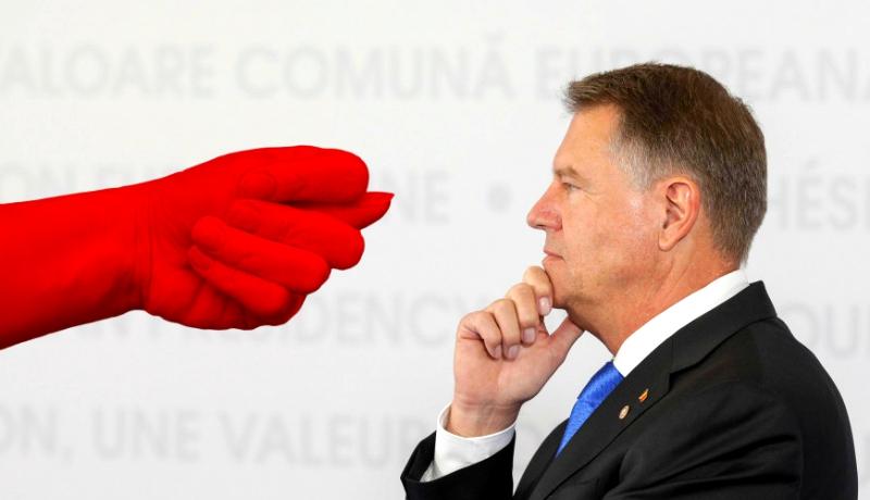 Szeretne betársulni a Klaus Ionopot Iohannisnak szánt szimbolikus pofonba? Akkor írja alá a petíciót!