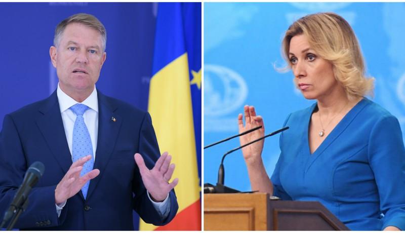 Bukarest a Nyugattól plagizál, mert képtelen önállóan gondolkodni, mondja az orosz külügy szóvivője