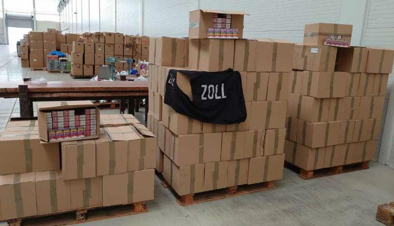 Nem kispályázott egy román bűnöző: még a berlini vámhatóság raktárát is kirabolta