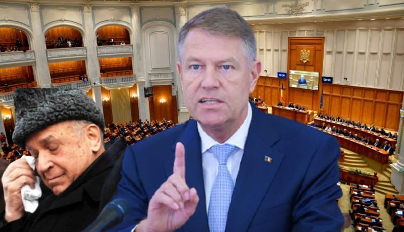 Az államfő csak azért is kiütné a pikszisből Iliescut: felszámolná arcátlan sóhivatalát