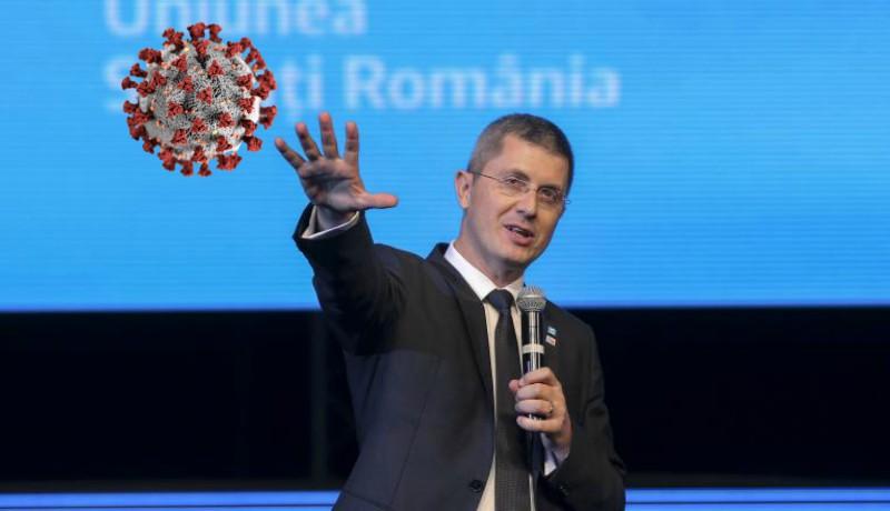 Megjárta a járvánnyal: Dan Barna USR-elnök is elkapta a koronavírust