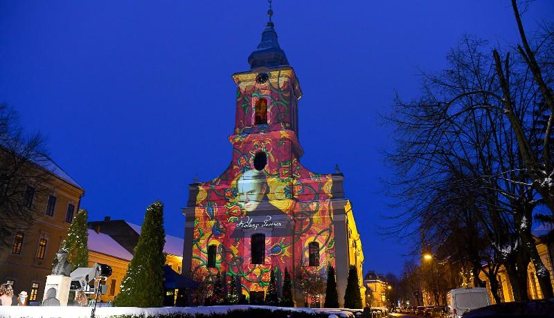 Nézze csak, milyen látványosan ünneplik a magyar kultúra napját Szatmárnémetiben!