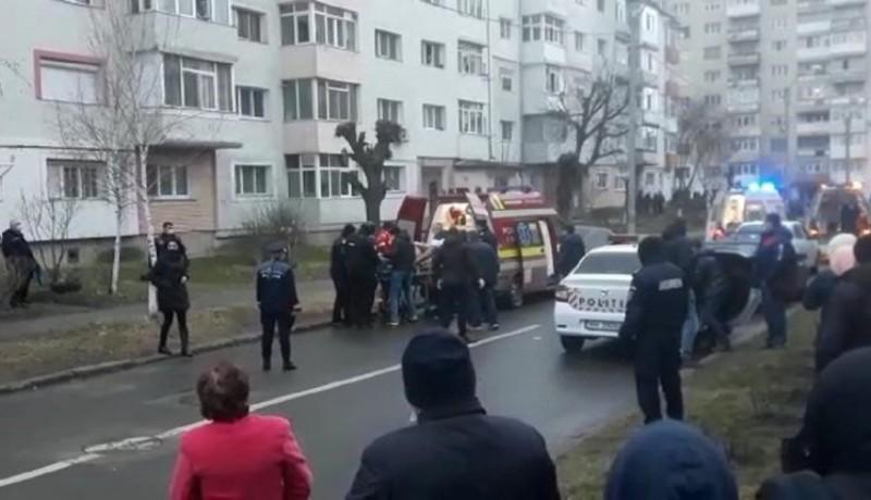 Bocsánatot kért a rendőrség, hogy elbénázták a beavatkozást a kettős gyilkossággal végződő Onești-i ügyben