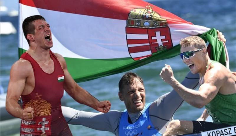 Micsoda kedd, két arany, két ezüst, egy bronz: a magyarok napja volt a tokiói olimpián!