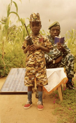 Photographs from inside the Lord's Resistance Army Kristof Titeca, Fomu, Uganda