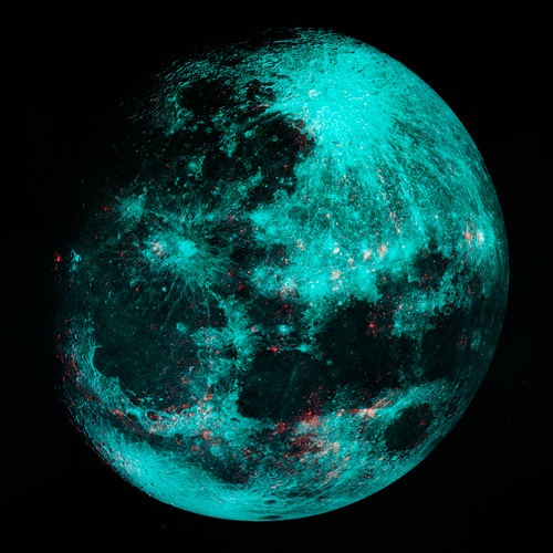 Maan, maanlanding fototentoonstelling Fomu