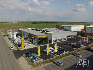 Luftbild von Autohaus Eisner