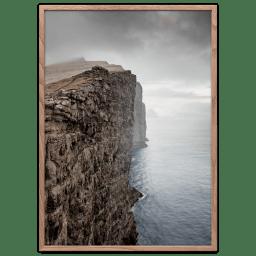 Plakater Færøerne Kyst