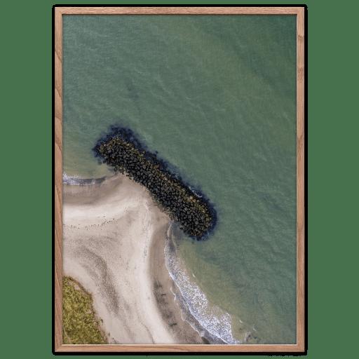 Bølgebryder plakat fotokunst