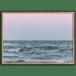 Skagens Bølger Plakat