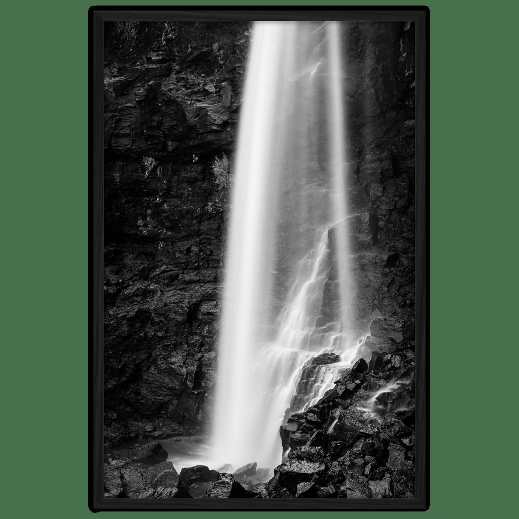 Fotokunst vandfald