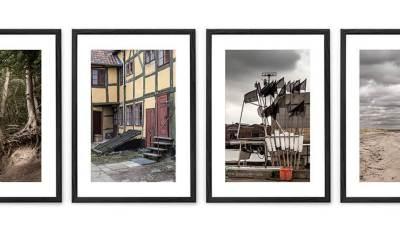 Køge – Fire kunstfotografier fra Køge egnen.