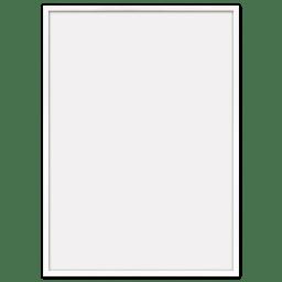 Plakatrammer i hvid eg