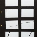 Eine gerade Linie horizontal, vertikal, diagonal