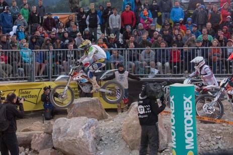 Es gab am Samstag auch einen Endurocross Bewerb auf Elektro-Maschinen