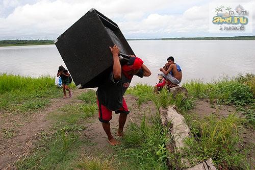 Выжить в джунглях Амазонки Икитос Перу