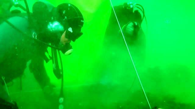 Çanakkale Boğazı hayalet ağlardan kurtarıldı