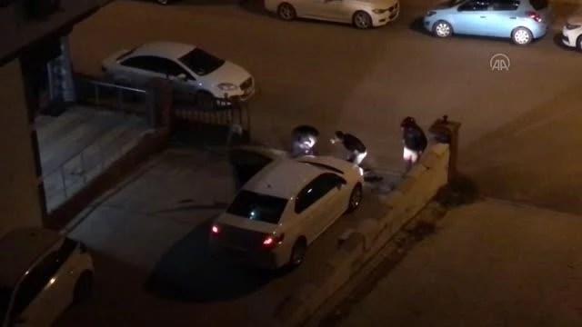 غازي عنتاب - أصيب شخص واحد في معركة سيلاني بسبب موقف للسيارات