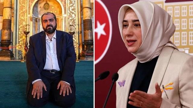 AK Partili Zengin, Ayasofya İmamı Boynukalın'ın paylaşımını eleştirdi: Yanlış buluyorum, böyle bir konuda tweet atmamalı
