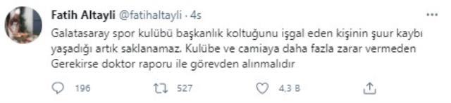 Fatih Altaylı, Mustafa Cengiz'e ateş püskürdü: Doktor raporu ile görevden alınmalı