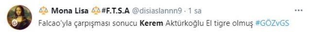 Hat-trick sonrası sosyal medya yıkıldı: Falcao'yu sakatlayıp yerine geçen Kerem adamlığı