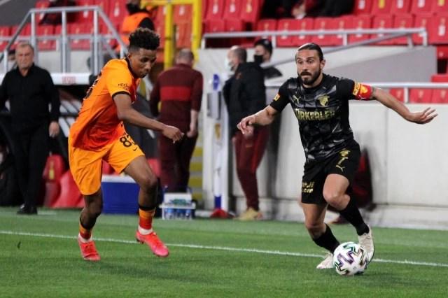 Süper Lig: Göztepe: 1 - Galatasaray: 3 (Maç sonucu)