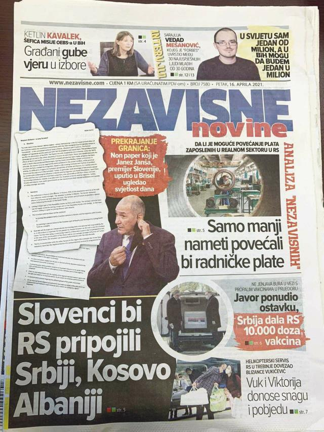 Büyük skandal! Bosna'nın haritadan silinmesini öngören belge ortaya çıktı, Türkiye detayı dikkat çekti
