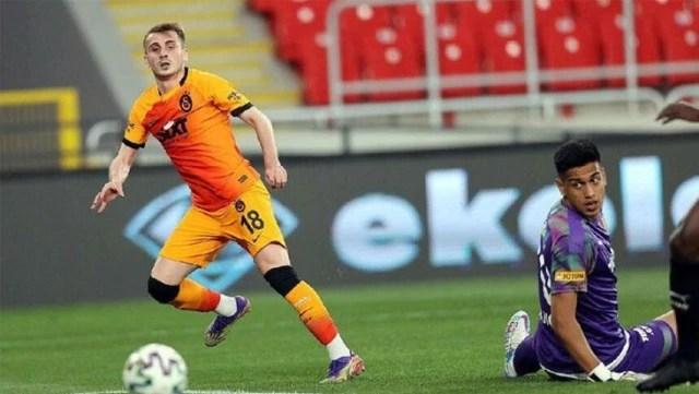 Göztepe'ye üç gol atan Kerem, beş yıl sonra hat-trick yapan ilk yerli futbolcu oldu