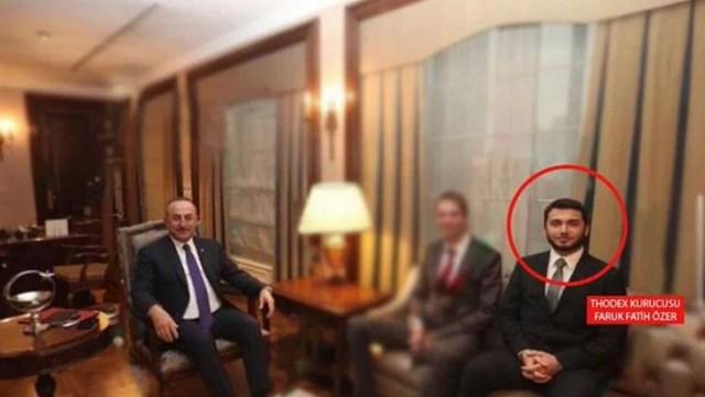 Son Dakika: Bakan Çavuşoğlu'ndan Thodex'in kurucusuyla birlikte çekildiği fotoğrafa ilişkin açıklama: Kendisini tanımıyorum