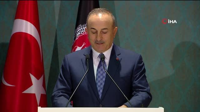 """Dışişleri Bakanı Çavuşoğlu: """"Afganlı kardeşlerimize desteğimiz güçlü bir şekilde sürecektir"""""""