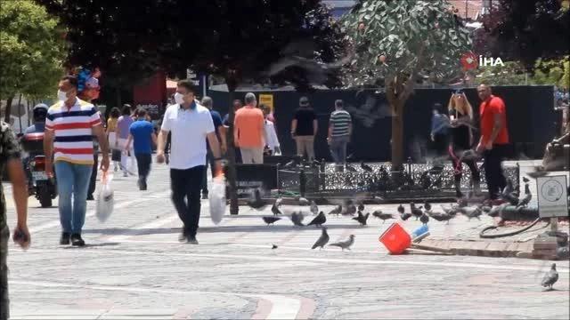 Edirne'de vaka sayıları tek hanelere düştü, ilçelerde vaka rastlanılmadı