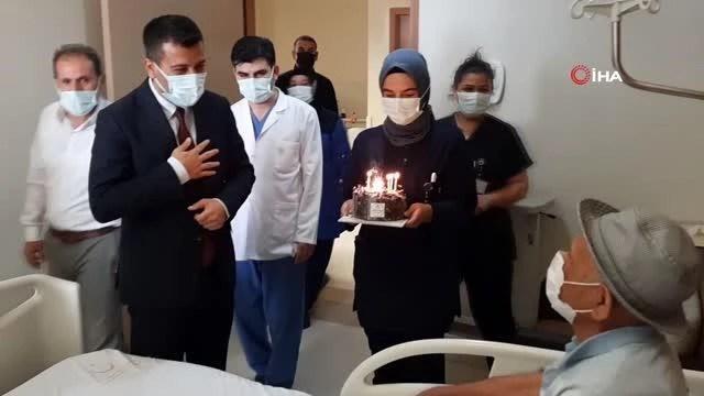 ilk dogum gunu pastasini 81 yasinda hastanede 14193160 o
