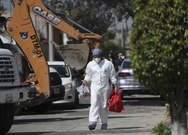 Meksika'da seri katil şüphelisinin evinden 17 cansız bedene ait 3 bin 787 kemik parçası çıktı