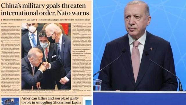 Financial Times fotoğrafla algı çalışması yaptı, tepki yağdı! Erdoğan'ın danışmanı da duruma sessiz kalmadı