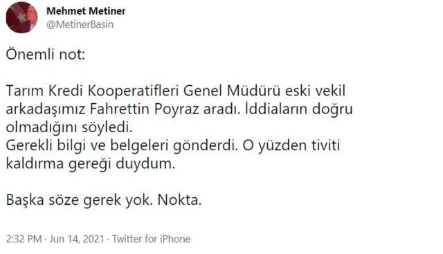 Mehmet Metiner'den çok konuşulacak çift maaş tepkisi! Önce paylaştı, sonra sildi