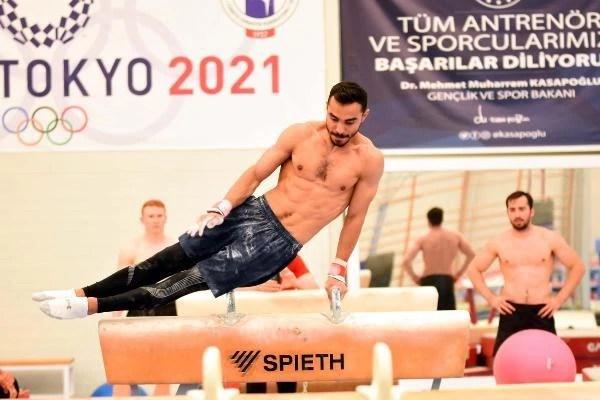 SPOR Milli cimnastikçi Ferhat Arıcan: Tokyo'ya formda gidiyorum