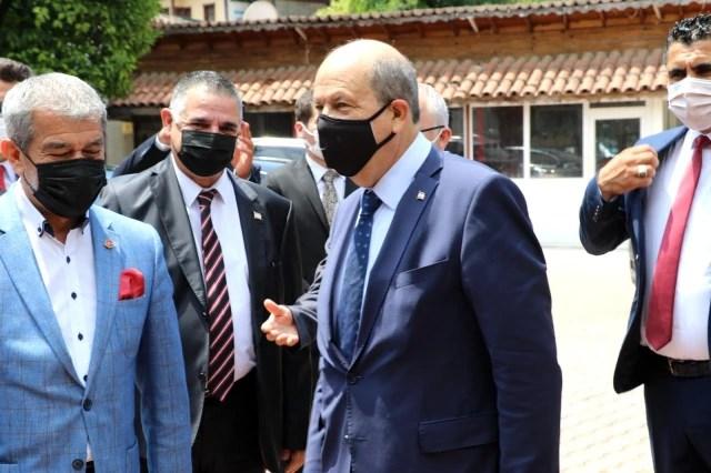 """Son dakika haberleri... KKTC Cumhurbaşkanı Tatar: """"Türkiye ile bağımızın koparılmasına asla müsaade etmeyiz"""""""