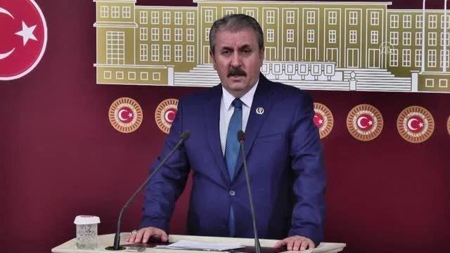 BBP Genel Başkanı Destici, HDP'nin kapatılması istemli davayı değerlendirdi