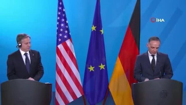 """Alman Bakan Maas: """"Normandiya formatında yeni dinamiğe ihtiyacımız var"""""""