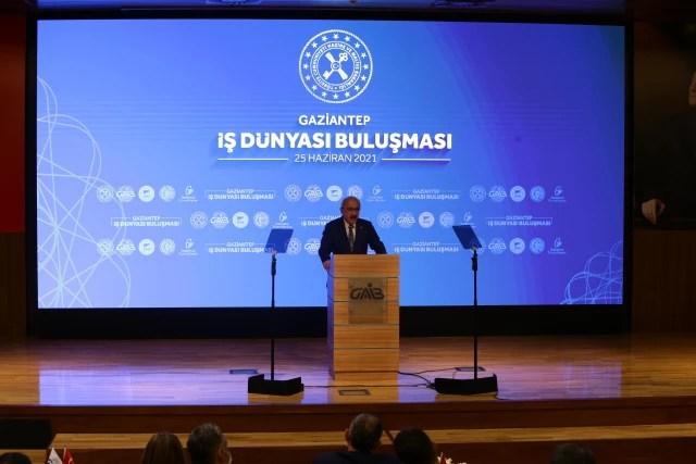 """Son dakika... Adalet Bakanı Gül """"Gaziantep İş Dünyası ile Buluşma"""" programına katıldı Açıklaması"""