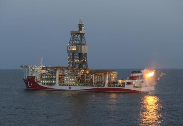 Tarihi anlar! Cumhurbaşkanı Erdoğan'ın katılımıyla Karadeniz'de bulunan doğal gaz yakıldı