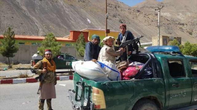 Taliban'ın ele geçirdiği direnişin kalesi Pençşir'den ilk görüntüler geldi