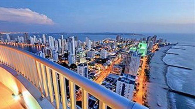 Exterior View Palmetto Apartments Cartagena