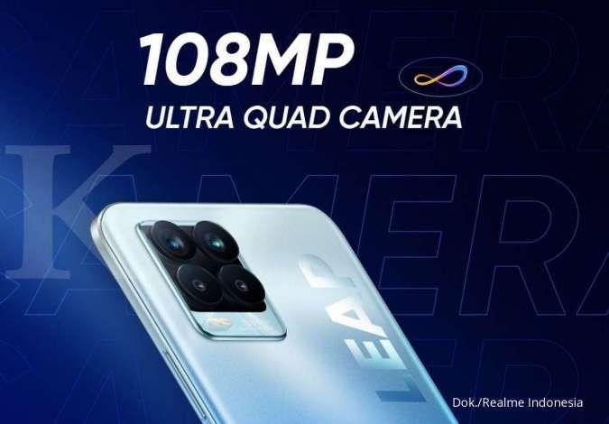 Mulai dari segi desain, fitur, dan spesifikasi utama lainnya termasuk prosesor. RAM 8GB dengan kamera 108MP, harga HP Realme 8 Pro dibanderol Rp 4,5 jutaan