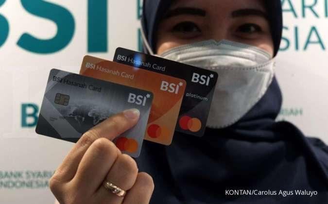 Outstanding pembiayaan BSI Hasanah Card mencapai Rp 354 miliar per Maret 2021