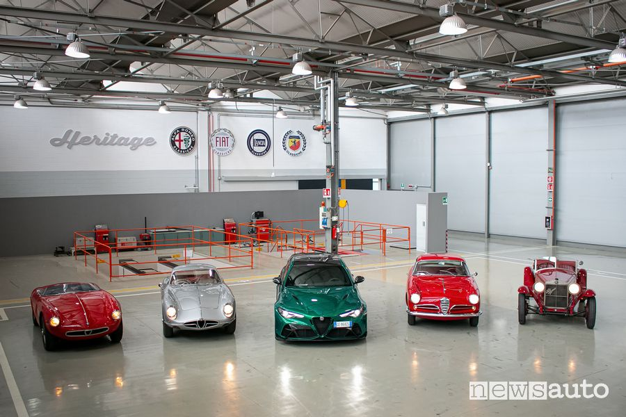 At the start of the 1000 Miglia 2021 there are 121 historic cars of the Alfa Romeo, Fiat and Lancia brands