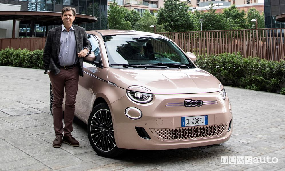 Olivier François, CEO of the Fiat brand, announces that the Italian brand will be electric only